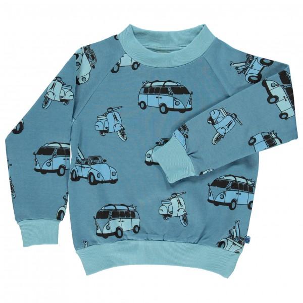 Smafolk - Kid's Sweatshirt With Car - Trui