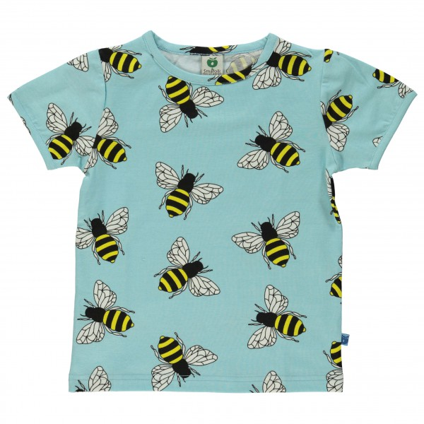 Smafolk - Kid's T-Shirt With Bumble Bies - T-paidat