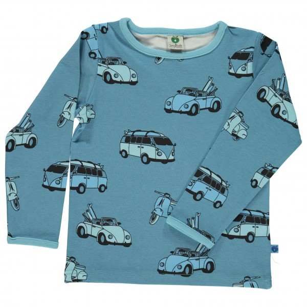 Smafolk - Kid's T-Shirt With Cars - Longsleeve