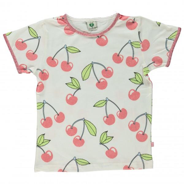 Smafolk - Kid's T-Shirt With Cherry - T-skjorte