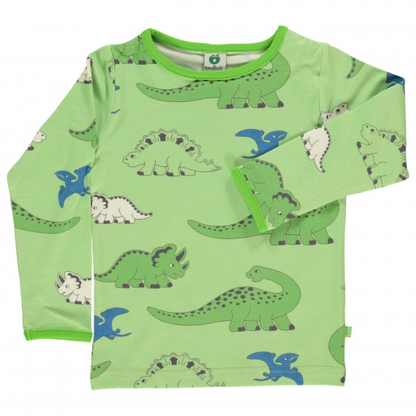 Smafolk - Kid's T-Shirt With Dino - Longsleeve