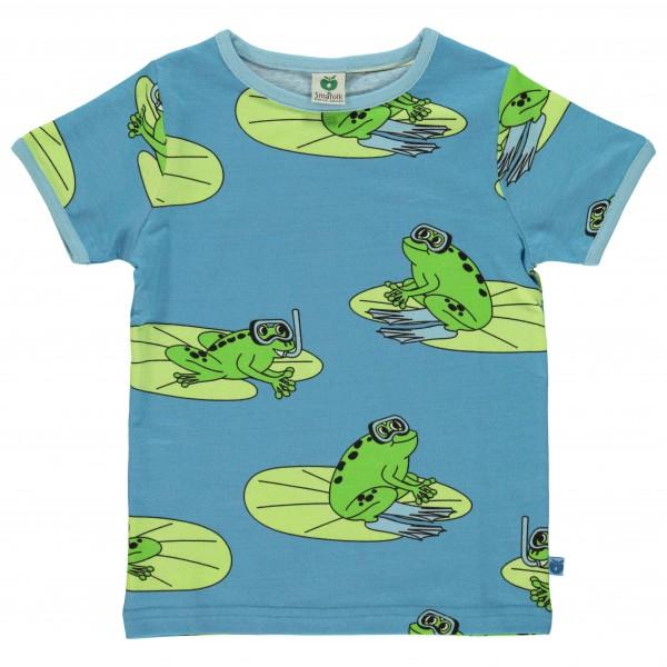 Smafolk - Kid's T-Shirt With Frogs - Camiseta de manga corta
