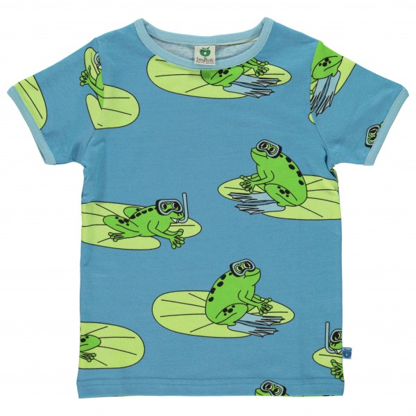 Smafolk - Kid's T-Shirt With Frogs - T-Shirt