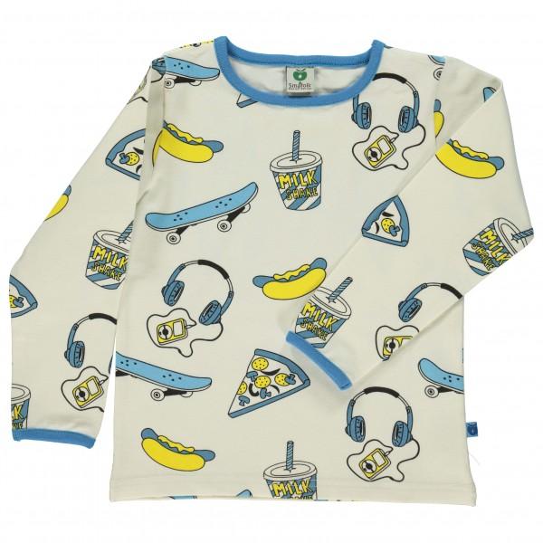 Smafolk - Kid's T-Shirt With Skater - Longsleeve
