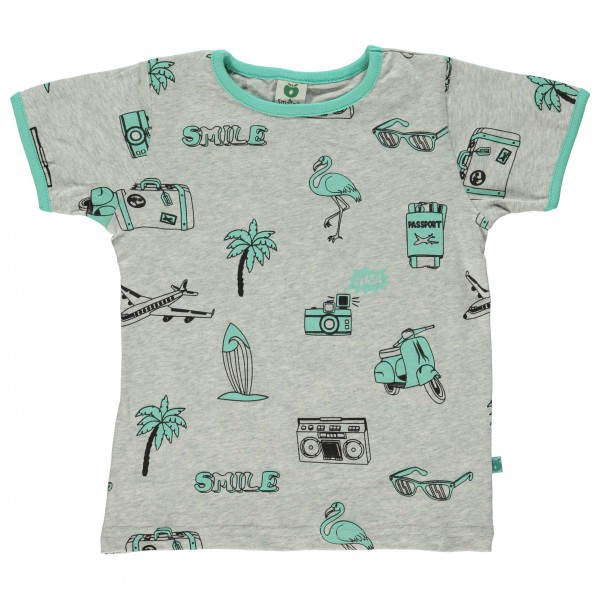 Smafolk - Kid's T-Shirt With Travel Theme - T-paidat