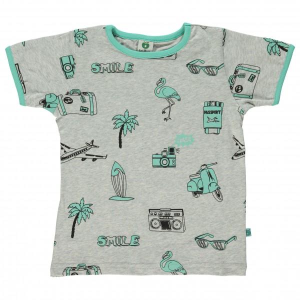 Smafolk - Kid's T-Shirt With Travel Theme - T-skjorte