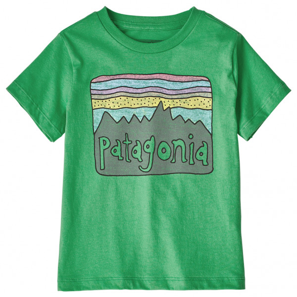 Patagonia - Kid's Fitz Roy Skies Organic T-Shirt - T-shirt