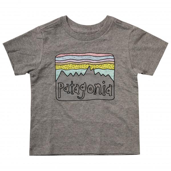Patagonia - Kid's Fitz Roy Skies Organic T-Shirt - T-skjorte