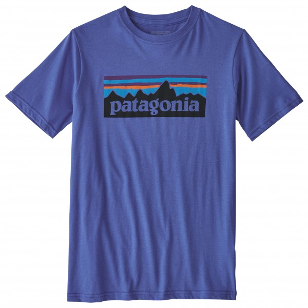 Patagonia - Kid's P-6 Logo Organic T-Shirt - T-shirt