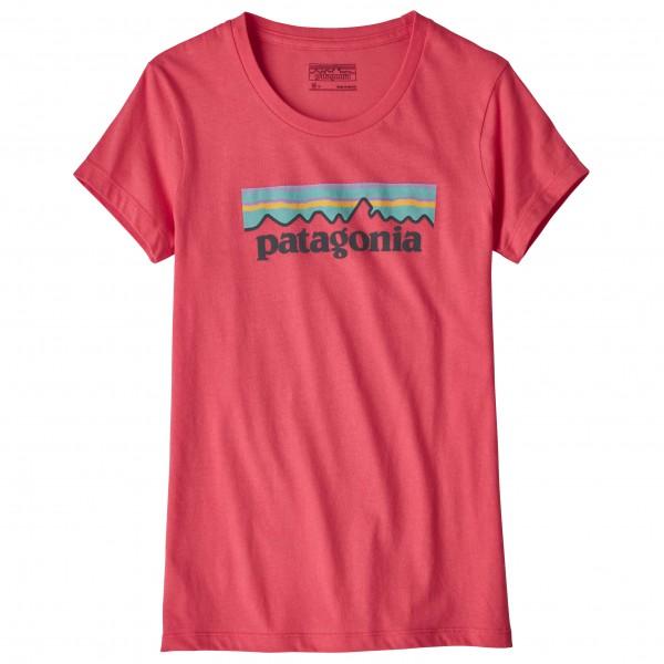 Patagonia - Kid's Pastel P-6 Logo Organic T-Shirt - T-shirt