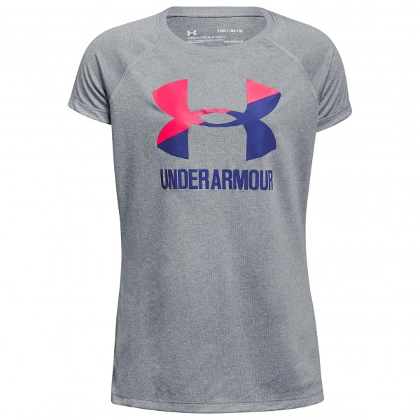 Under Armour - Kid's Solid Big Logo S/S T - Sport shirt