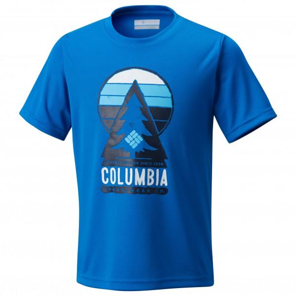 Columbia - Kid's Always Outside Short Sleeve Shirt - Tekninen paita