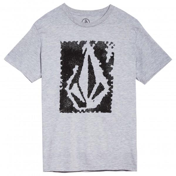 Volcom - Kid's Pixel Stone Basic S/S Heather - Camiseta de manga corta