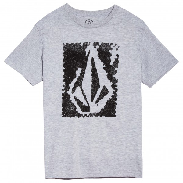 Volcom - Kid's Pixel Stone Basic S/S Heather - T-skjorte