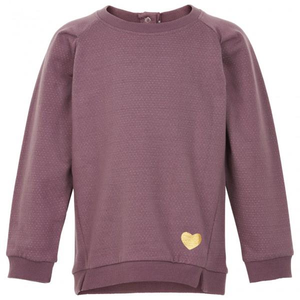 Minymo - Kid's Shirt L/S Sweat with Lurex - Överdragströjor