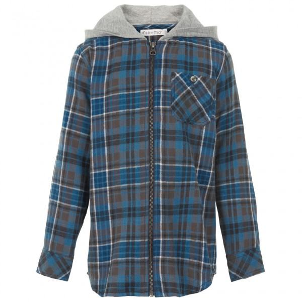 Minymo - Kid's Shirt with Hood - Munkjacka