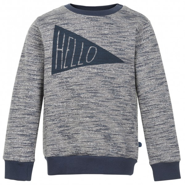 Minymo - Kid's Sweat Shirt Melange Print - Överdragströjor