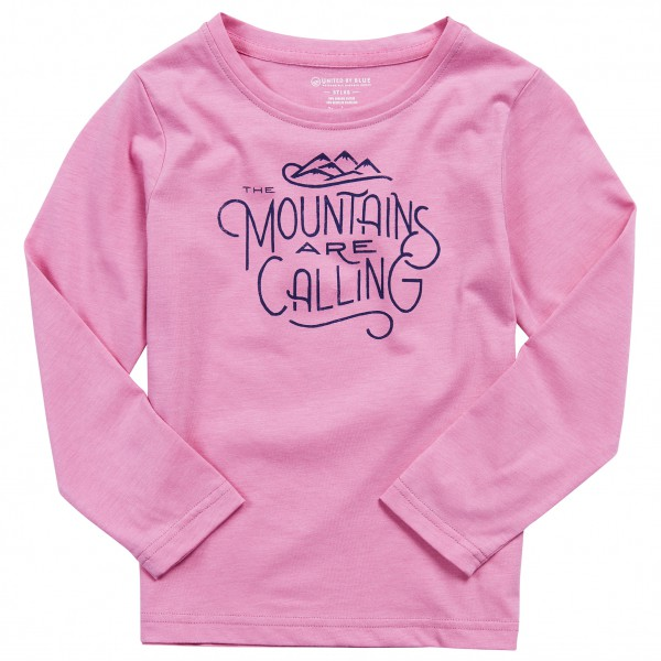 United By Blue - Kid's Mountains Are Calling - Longsleeve