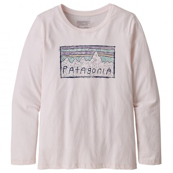 Patagonia - Girls' L/S Graphic Organic T-Shirt - Longsleeve