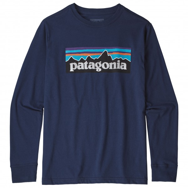 Patagonia - Kid's L/S Graphic Organic T-Shirt - Longsleeve