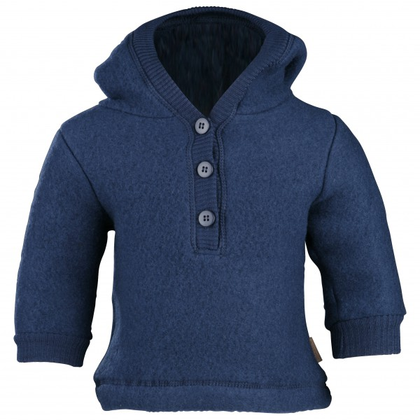 Mikk-Line - Kid's Wool Jacket w/Hat - Merinogensere