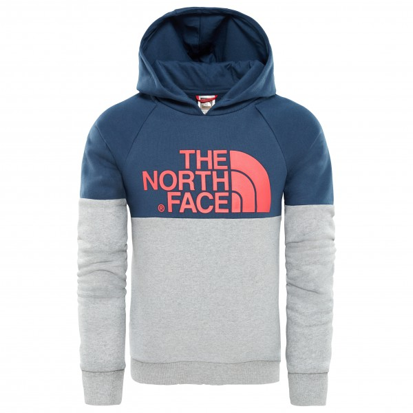 The North Face - Youth Drew Peak Raglan PV Hoodie - Hoodie