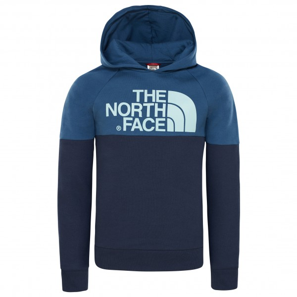 The North Face - Youth Drew Peak Raglan PV Hoodie - Munkjacka