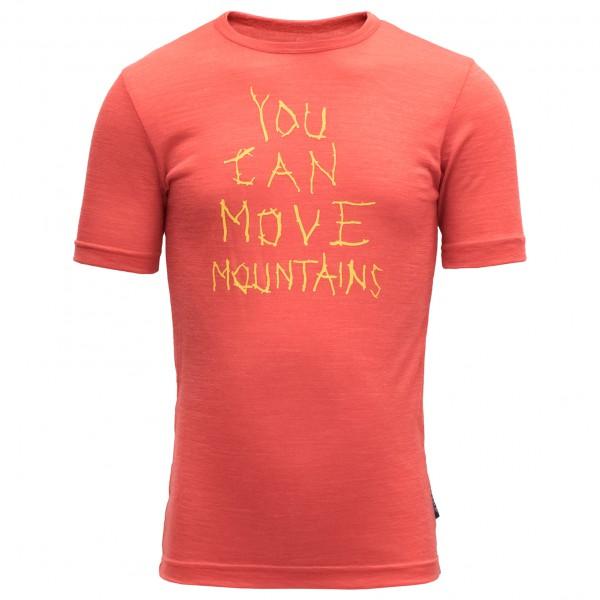 Devold - Kid's Moving Mountain Kid Tee - T-paidat