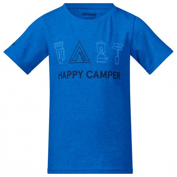 Bergans - Kid's Happy Camper Tee - T-paidat