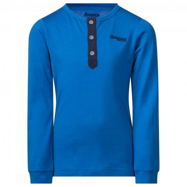 Bergans - Kid's Myske Wool Shirt - Överdragströjor merinoull
