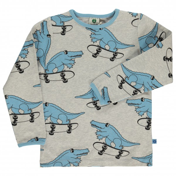 Smafolk - Kid's T-Shirt With Croco - Longsleeve