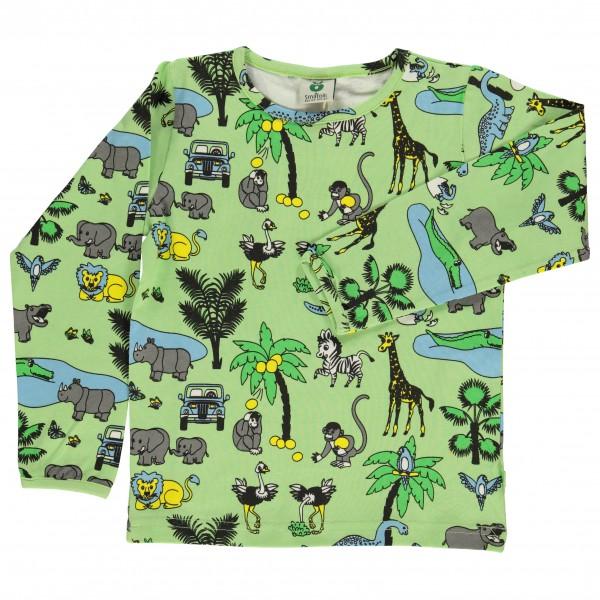 Smafolk - Kid's T-Shirt With Jungle Landscape - Longsleeve