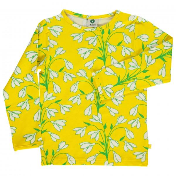 Smafolk - Kid's T-Shirt With Snowdrop - Longsleeve