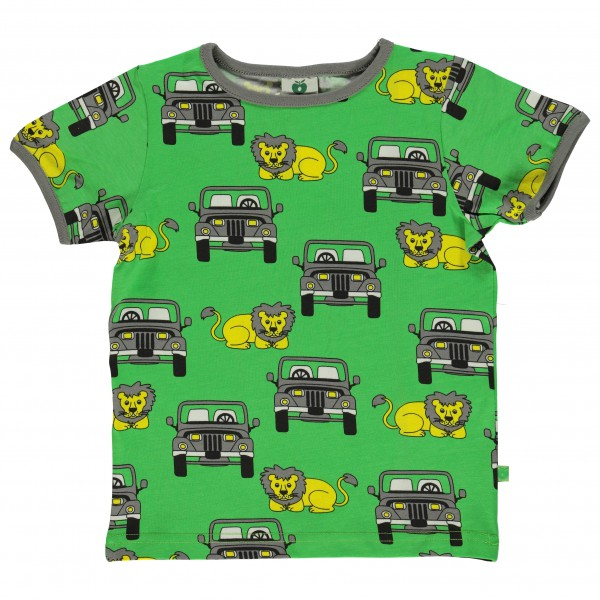Smafolk - Kid's T-Shirt With Suv And Lion
