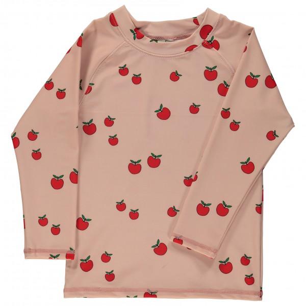 Smafolk - Kid's UV50 UV T-Shirt With Long Sleeve And Apple - Longsleeve