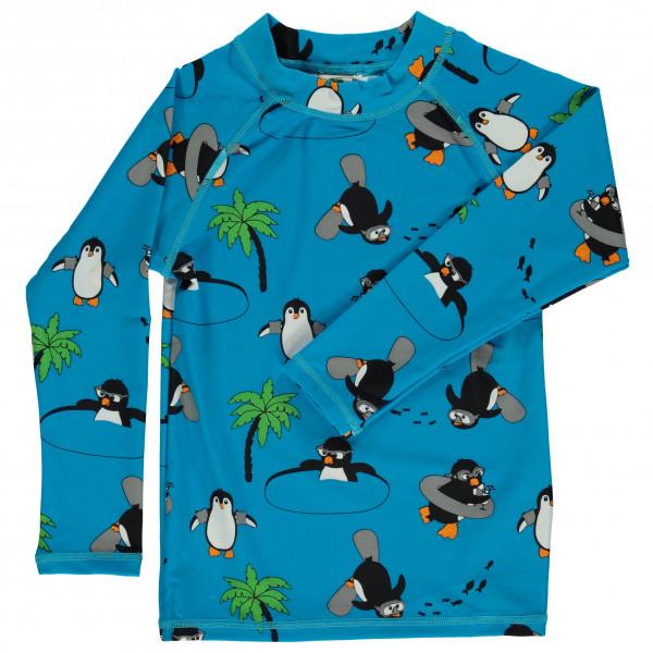 Smafolk - Kid's UV50 UV T-Shirt With Long Sleeve And Penguin - Longsleeve