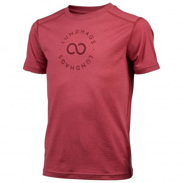 Lundhags - Kid's Merino Light Sigil Tee - T-skjorte