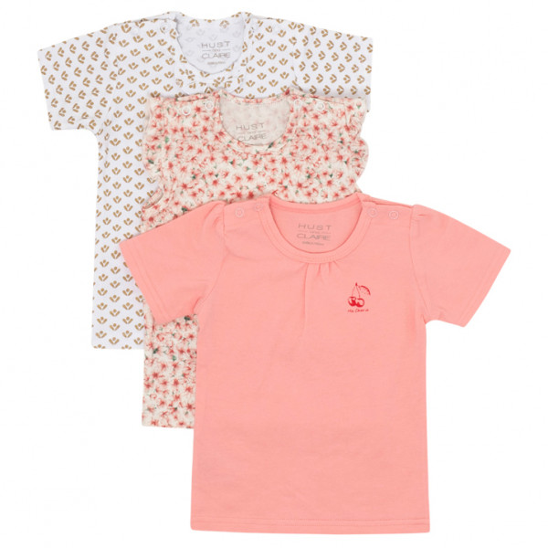 Hust&Claire - Kid's Alina S/S 3-Pack - T-shirt