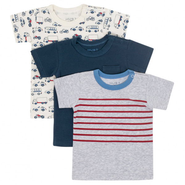 Hust&Claire - Kid's Asmo T-Shirt S/S 3-Pack - T-paidat