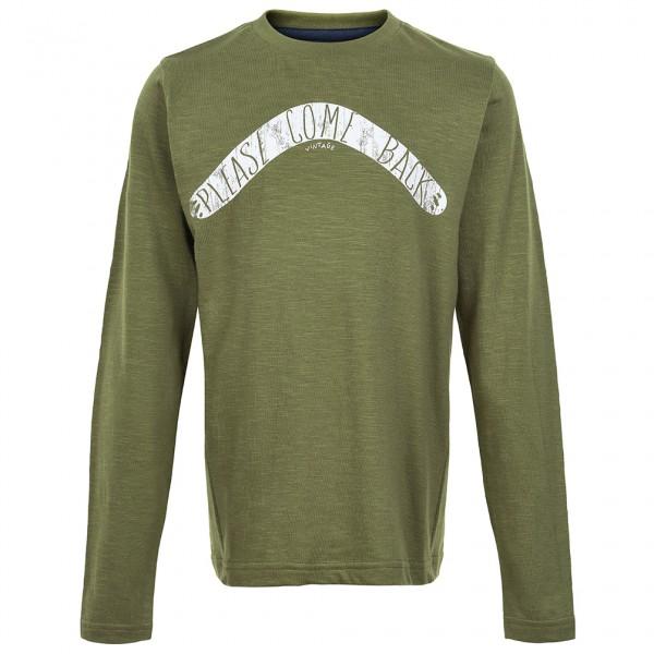 Minymo - Kid's T-Shirt L/S With Boomerang Boy - Longsleeve