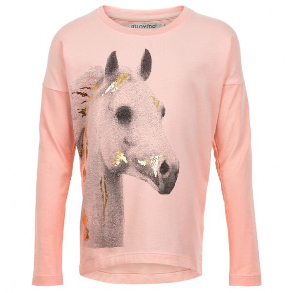 Minymo - Kid's T-Shirt L/S With Print Girl - Longsleeve