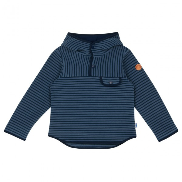 Finkid - Kid's Joki Striped  Hood - Fleecesweatere
