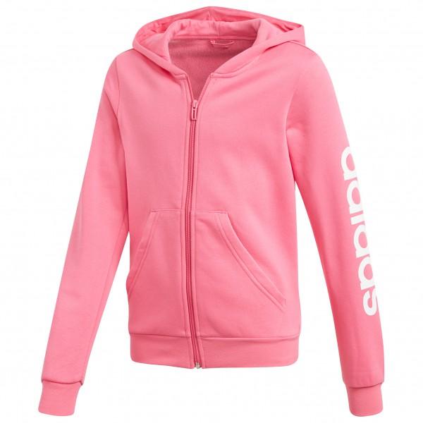 adidas - Girl's Essentials Linear Fullzip Hoodie - Hoodie