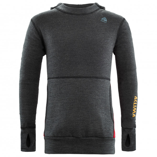 Aclima - Junior Warmwool Hood Sweater - Merino jumper