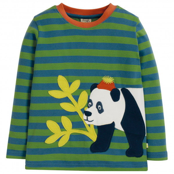 Frugi - Kid's Discovery Applique Top - Longsleeve