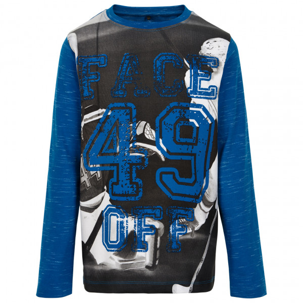 ME TOO - Kid's T-Shirt L/S Face Off - Longsleeve