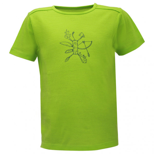 2117 of Sweden - Kid's TeckbergBF 150 - T-shirt en laine mérinos
