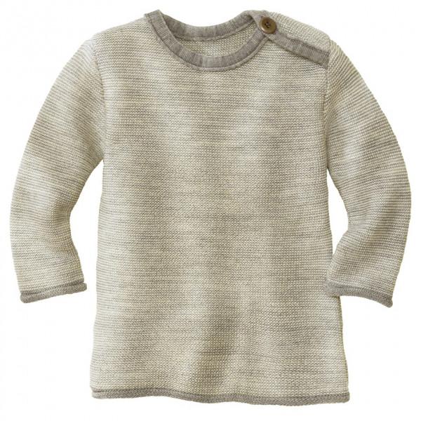 disana - Kid's Melange-Pullover - Merinotrui