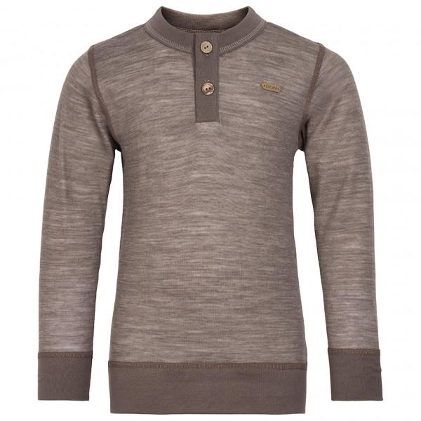 CeLaVi - Kid's Sweatshirt Buttons L/S Solid Melange - Trui