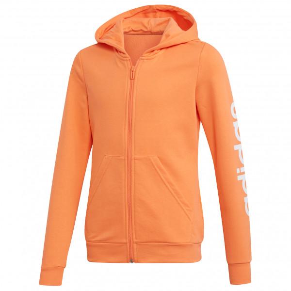 adidas - Kid's Essentials Linear Fullzip Hooded - Hoodie